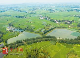 水清景美湖还原